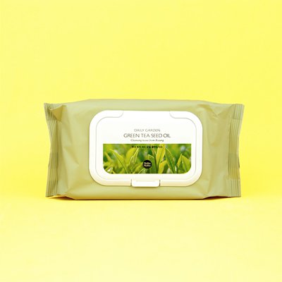 Очищающие салфетки с маслом оливы Holika Holika Daily Fresh Olive Cleansing Tissue