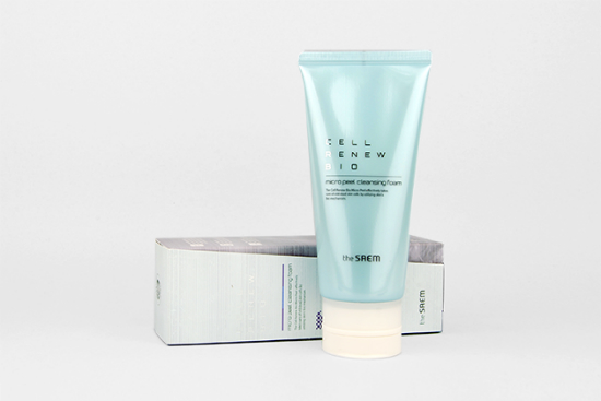 The Saem Cell Renew Bio Micro Peel Cleansing Foam