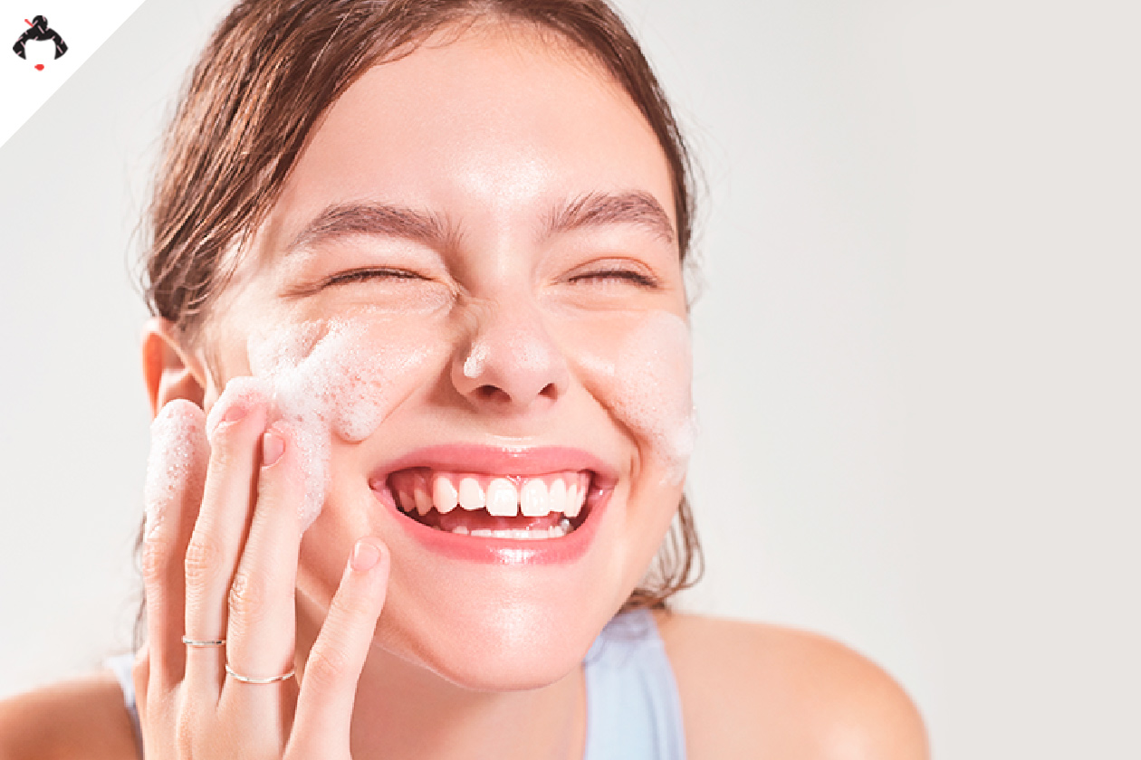 Очищение кожи летом