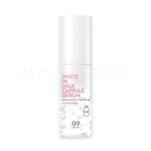 Купить Осветляющая сыворотка с молочными протеинами G9SKIN White In Milk Capsule Serum