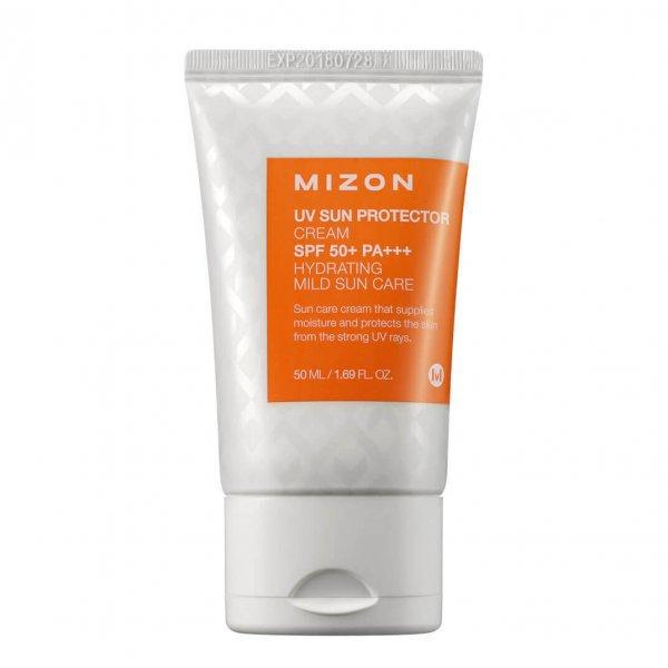 Солнцезащитный крем для лица с бета-глюканом Mizon UV Sun Protector Cream SPF 50+ PA+++ фото