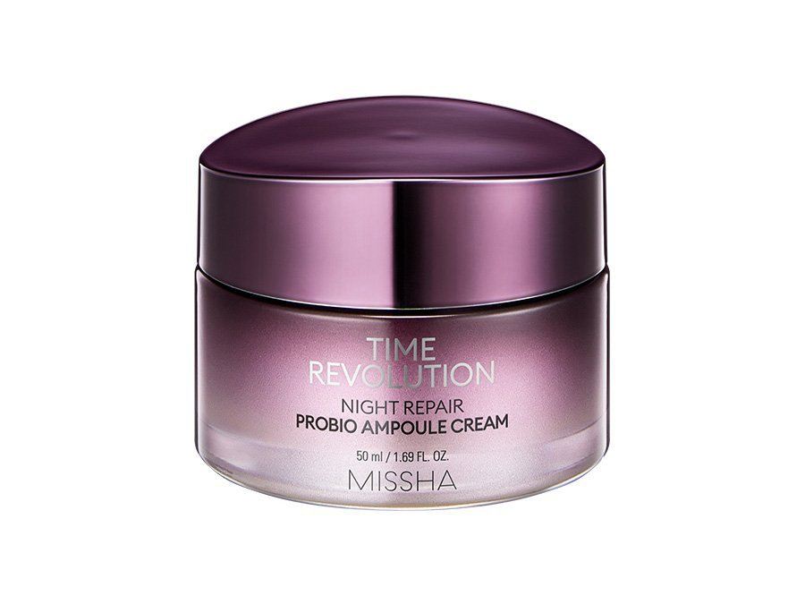 Восстанавливающий ночной крем MISSHA Time Revolution Night Repair Probio Ampoule Cream фото