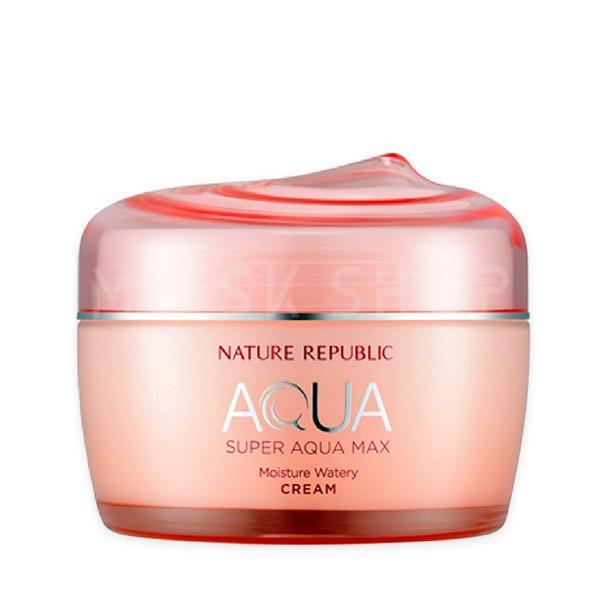 Купить Крем для сухой кожи Nature Republic Super Aqua Max Moisture Watery Cream