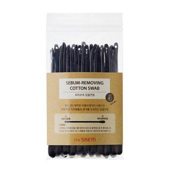 Ватные палочки для очистки пор The Saem Sebum Removing Cotton Swab фото