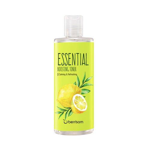 Тонер с экстрактом лимона и чайного дерева Berrisom Essential Boosting Toner Tea Tree Lemon фото