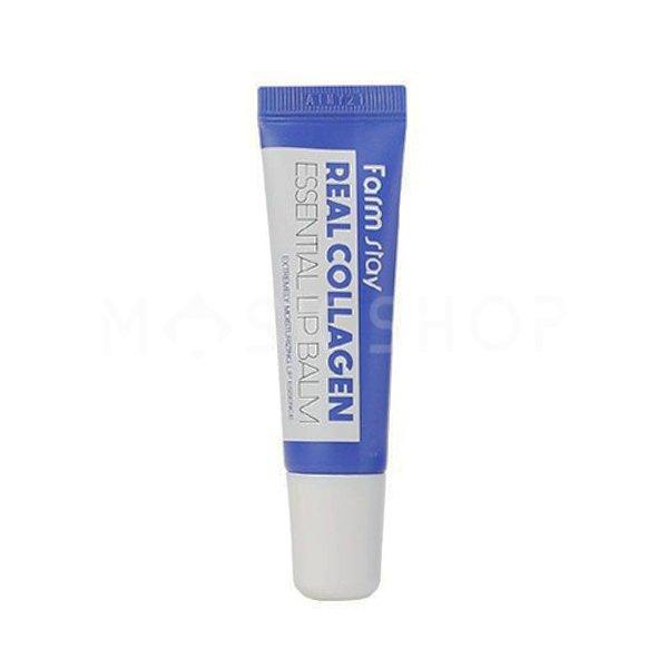 Бальзам для губ с коллагеном FarmStay Real Collagen Essential Lip Balm фото