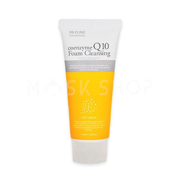 Купить Пенка для умывания c коэнзимом 3W Clinic Coenzyme Q10 Foam Cleansing