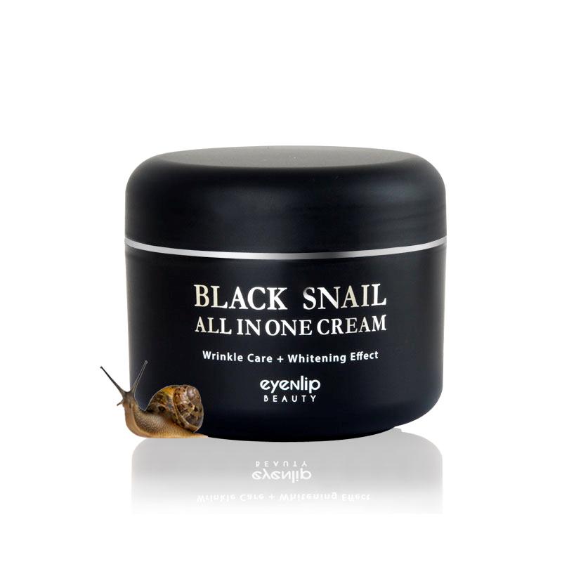 Купить Крем для лица с экстрактом черной улитки Eyenlip Black Snail All In One Cream