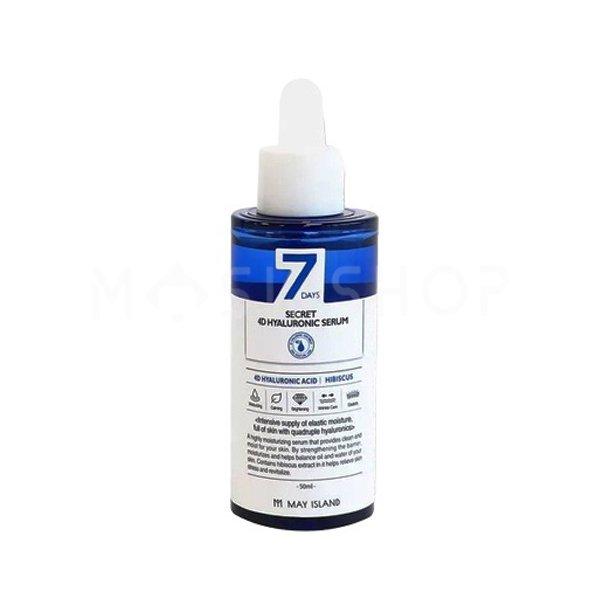 Сыворотка с гиалуроновой кислотой May Island Seven Days Secret 4D Hyaluronic Serum фото
