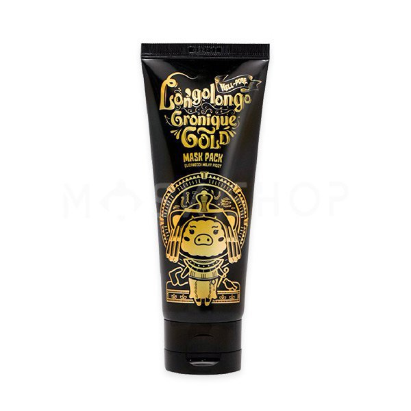 Очищающая золотая маска-пленка Elizavecca Milky Piggy Hell Pore Longolongo Gronique Gold Mask Pack фото
