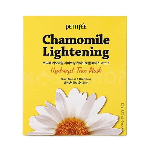 Купить Гидрогелевая маска экстрактом ромашки Petitfee Chamomile Lightening Hydrogel Face Mask