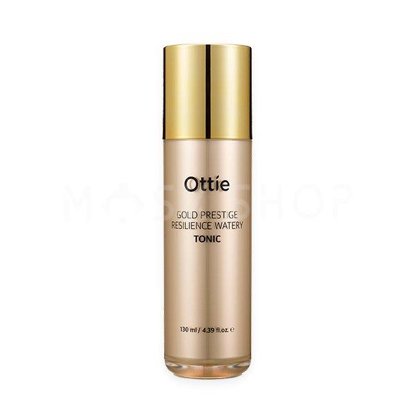 Купить Подтягивающий тоник Ottie Gold Prestige Resilience Watery Tonic