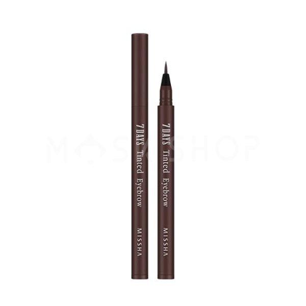 Тинт для бровей Missha 7Days Tinted Eyebrow Maroon Brown фото