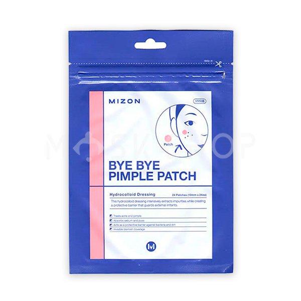 Противовоспалительные локальные патчи Mizon Bye Bye Pimple Patch фото