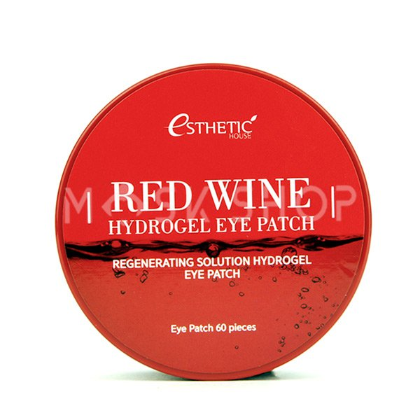 Купить Гидрогелевые патчи с экстрактом красного вина Esthetic House Red Wine Hydrogel Eye Patch