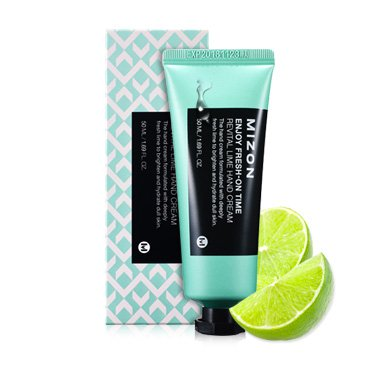 Крем для рук с экстрактом лайма Mizon Enjoy Fresh On Time Revital Lime Hand Cream