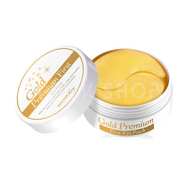Купить Патчи для глаз с золотом Secret Key Gold Premium First Eye Patch