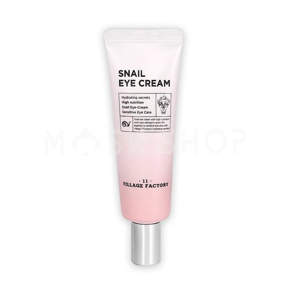 Крем для кожи вокруг глаз с улиточным муцином VILLAGE 11 FACTORY Snail Eye Cream фото