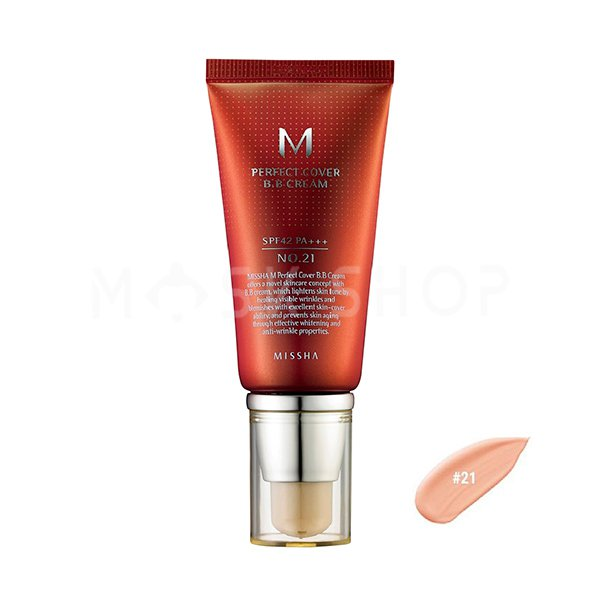 BB крем Missha M Perfect Cover BB Cream № 21, 50 мл фото
