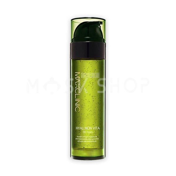 Гидрофильное масло-пенка Maxclinic Hyaluron Vita Oil Foam фото