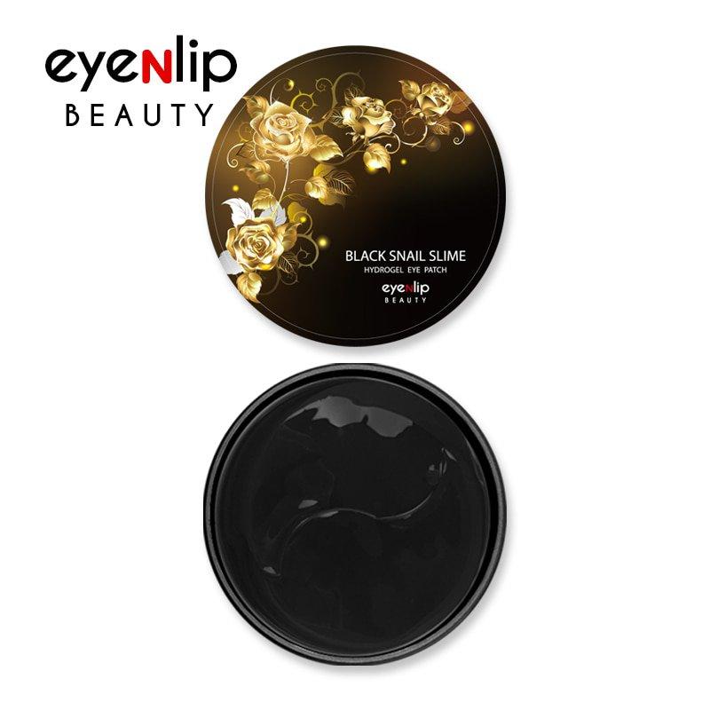 Омолаживающие патчи с черной улиткой Eyenlip Black Snail Slime Eye Patch фото