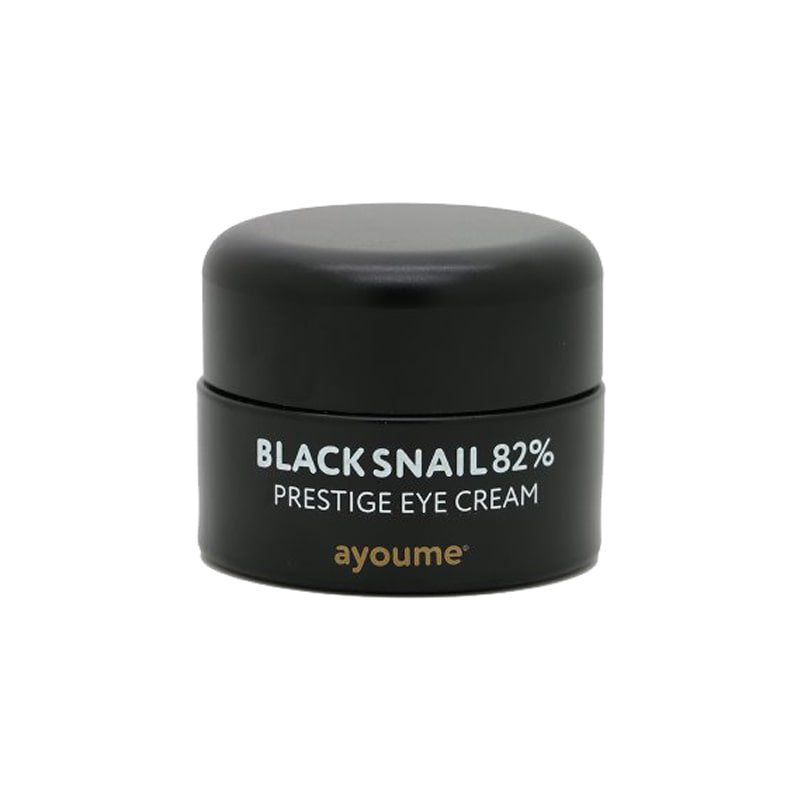 Крем для глаз с муцином улитки Ayoume Black Snail Pestige Eye Cream фото