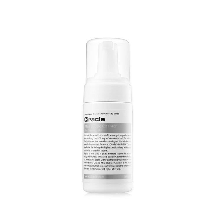 Мягкая очищающая пенка для чувствительной кожи Ciracle Mild Bubble Cleanser фото