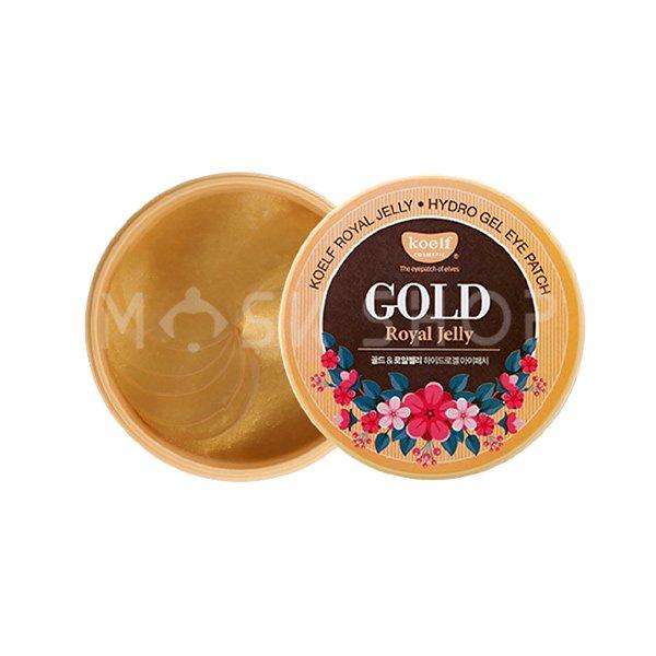 Купить со скидкой Гидрогелевые патчи с маточным молочком и золотом Koelf Hydro Gel Gold & Royal Jelly Eye Patch
