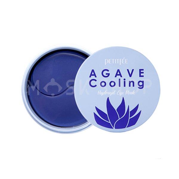 Гидрогелевые патчи против отечности Petitfee Agave Cooling Hydrogel Eye Mask фото