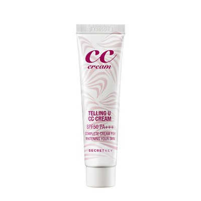 СС крем Secret Key CC Cream Telling U SPF50+ PA+++