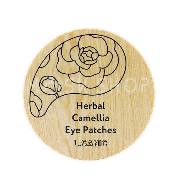 Купить Гидрогелевые патчи с экстрактом камелии L.Sanic Herbal Camellia Hydrogel Eye Patch