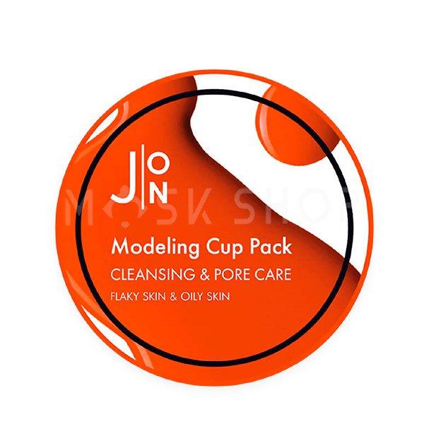 Альгинатная маска для кожи с расширенными порами J:ON Cleansing & Pore Care Modeling Pack 18 г фото