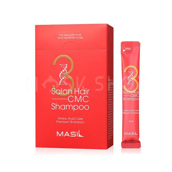 Набор из 20 шампуней Masil 3 Salon Hair CMC Shampoo Stick Pouch фото