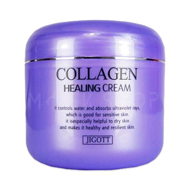 Купить Питательный ночной крем с коллагеном JIGOTT Collagen Healing Cream