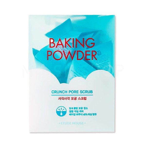 Скраб для лица с содой в пирамидках Etude House Baking Powder Crunch Pore Scrub фото