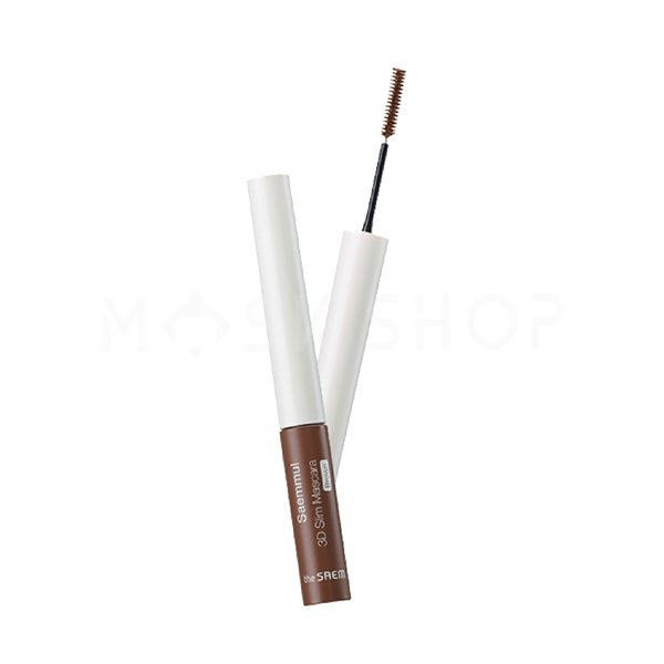 Купить Тушь для ресниц коричневая The Saem Saemmul 3D Slim Mascara Brown