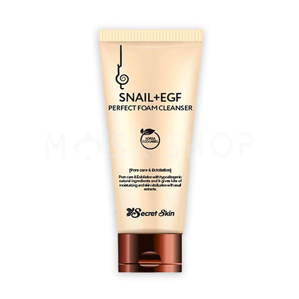 Пенка для умывания с экстрактом улитки Secret Skin Snail+EGF Perfect Foam Cleanser фото