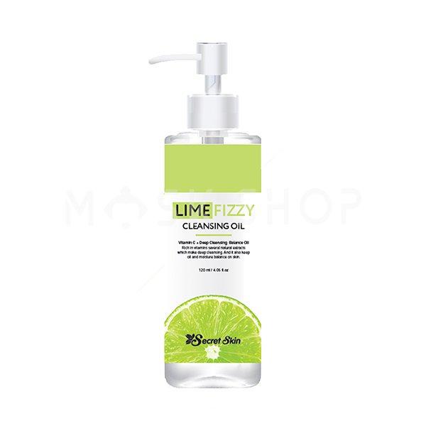 Гидрофильное масло с экстрактом лайма Secret Skin Lime Fizzy Cleansing Oil фото
