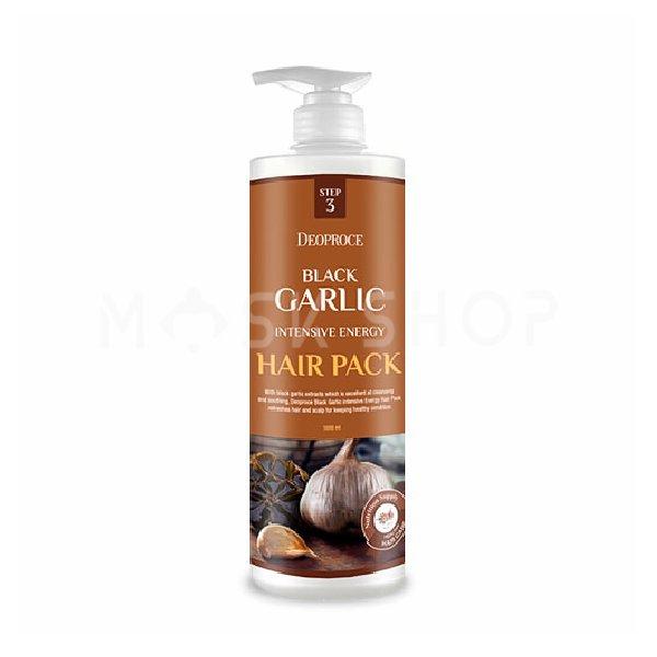 Купить Маска для волос с экстрактом черного чеснока Deoproce Black Garlic Pack