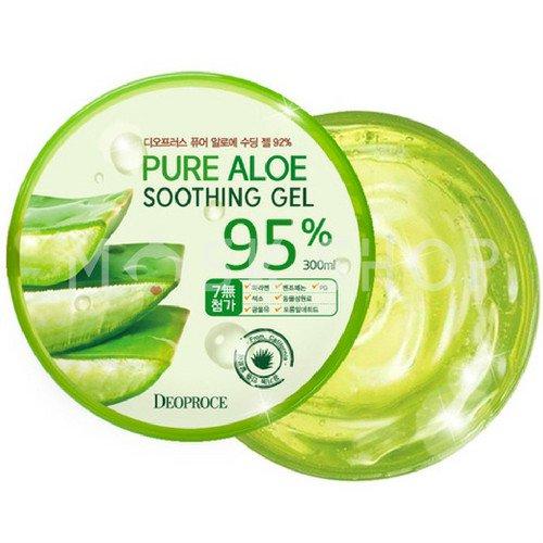 Купить Мультифункциональный гель с алоэ вера Deoproce Pure Aloe Soothing Gel 95%