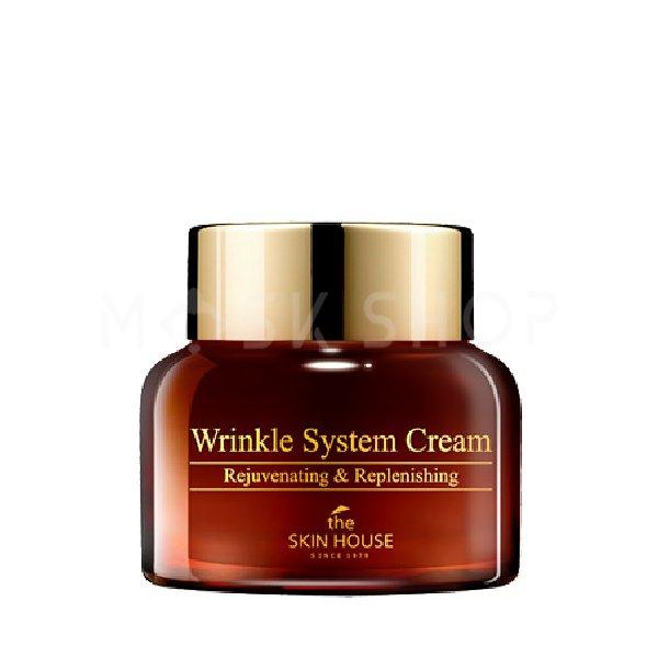 Антивозрастной крем для лица The Skin House Wrinkle System Cream 50 мл фото