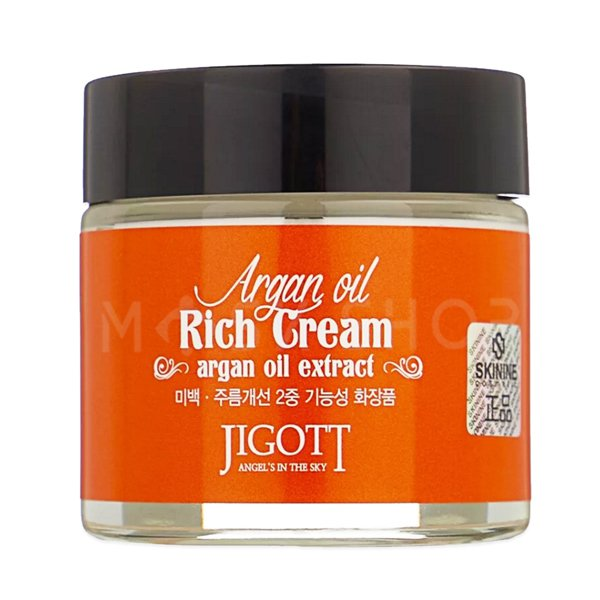 Питательный крем с маслом арганы Jigott Argan Oil Rich Cream фото