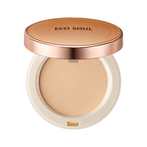 Компактная пудра The Saem Eco Soul Perfect Cover Pact 23 Natural Beige. Фото №3