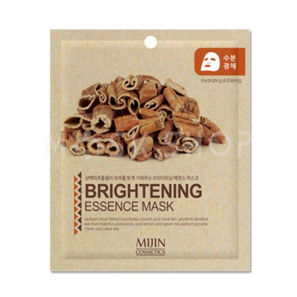 Тканевая маска с осветляющим эффектом Mijin Brightening Essence Mask фото