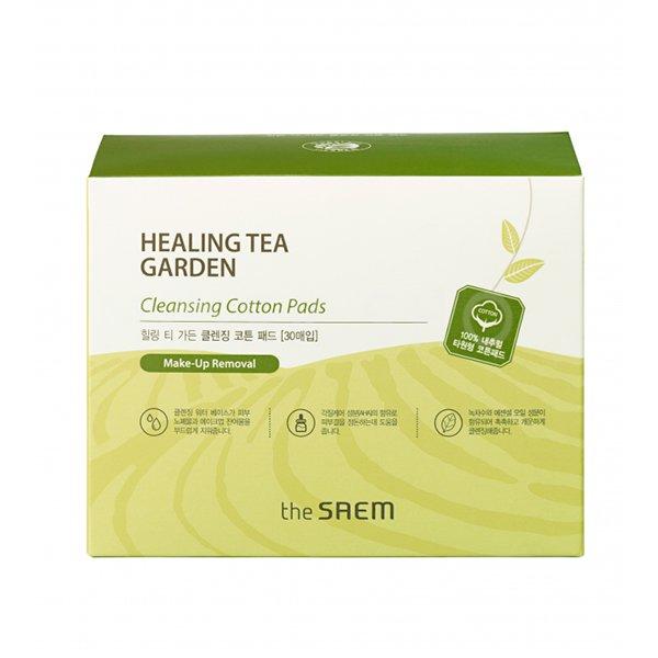 Очищающие диски The Saem Healing Tea Garden Cleansing Cotton Pads фото