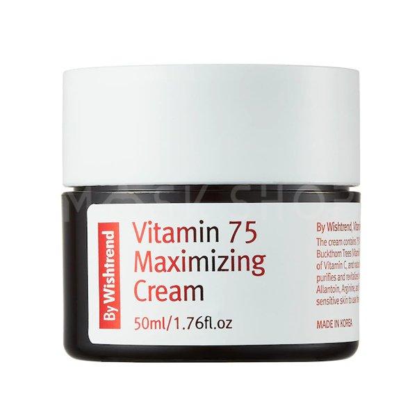Крем для лица By Wishtrend Vitamin 75 Maximizing Cream фото