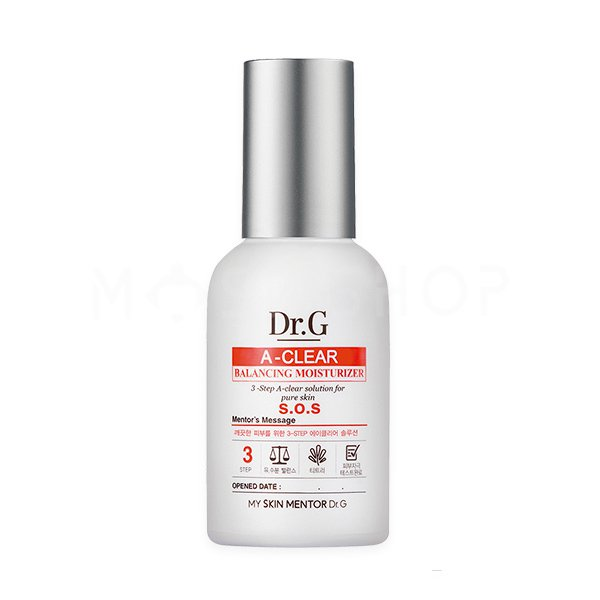 Увлажняющее средство для проблемной кожи Dr.G A-Clear Balancing Moisturizer фото