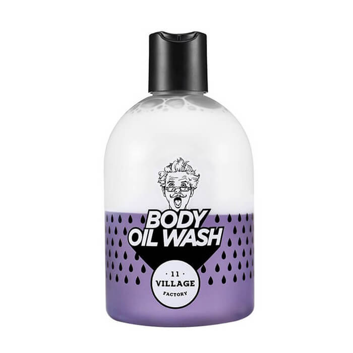 Двухфазный гель-масло для душа с ароматом пачули Village 11 Factory Relax Day Body Oil Wash Violet фото
