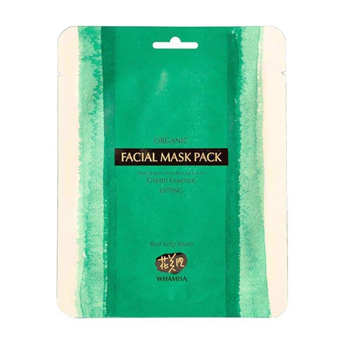 Купить Маска для лица из морских водорослей Whamisa Organic Facial Mask Pack Real Kelp Sheet