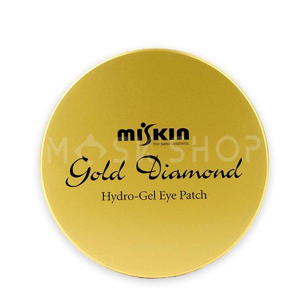 Купить со скидкой Гидрогелевые патчи с лифтинг эффектом Miskin Gold Diamond Hydro Gel Patch